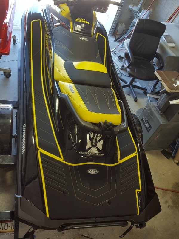 VXR/GP1800 seat cover and mats